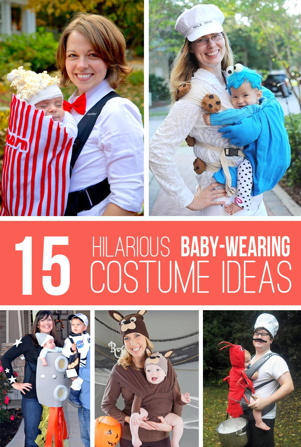 15 hilarious baby-wearing costume ideas!