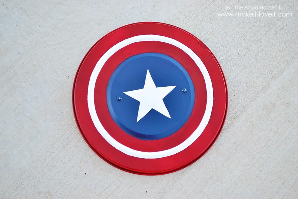 DIY Captain America Shield an IKEA Hack Make It and Love It