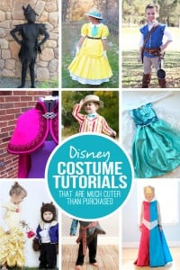 28 DIY Disney Costume Tutorials...that are MUCH cuter than store bought! | via Make It and Love It