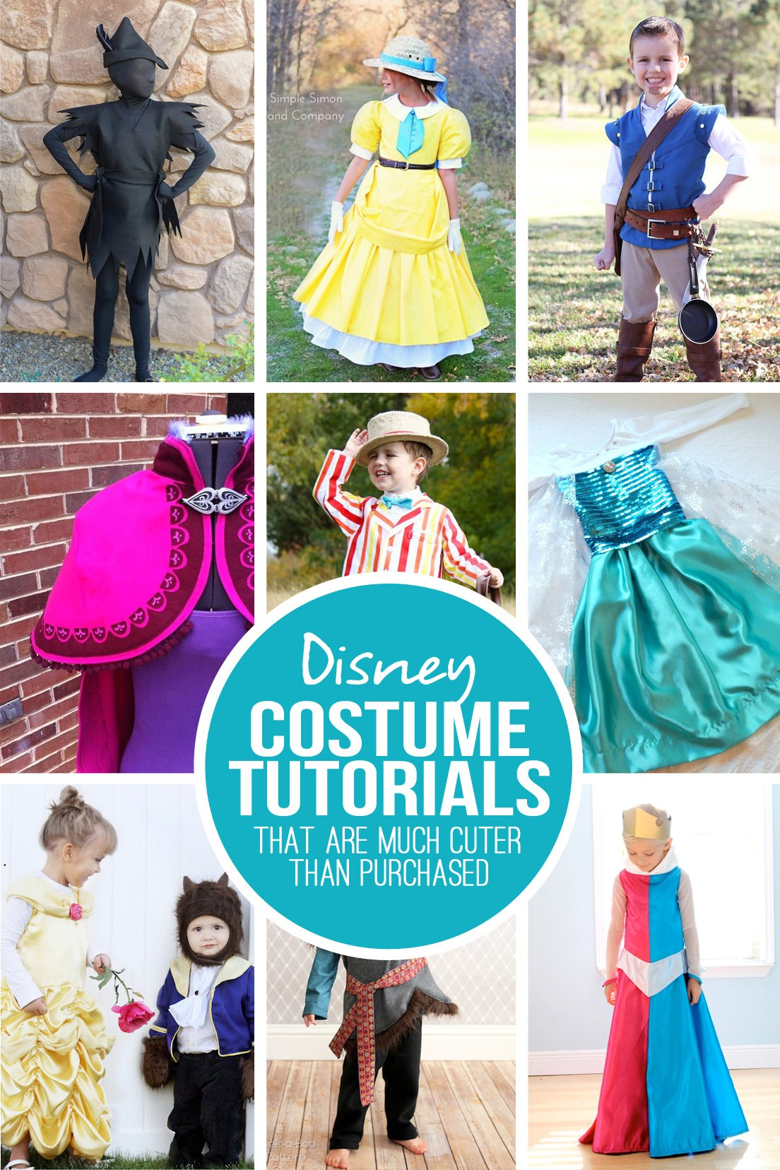 28 diy disney costume tutorials…that are much cuter than purchased!