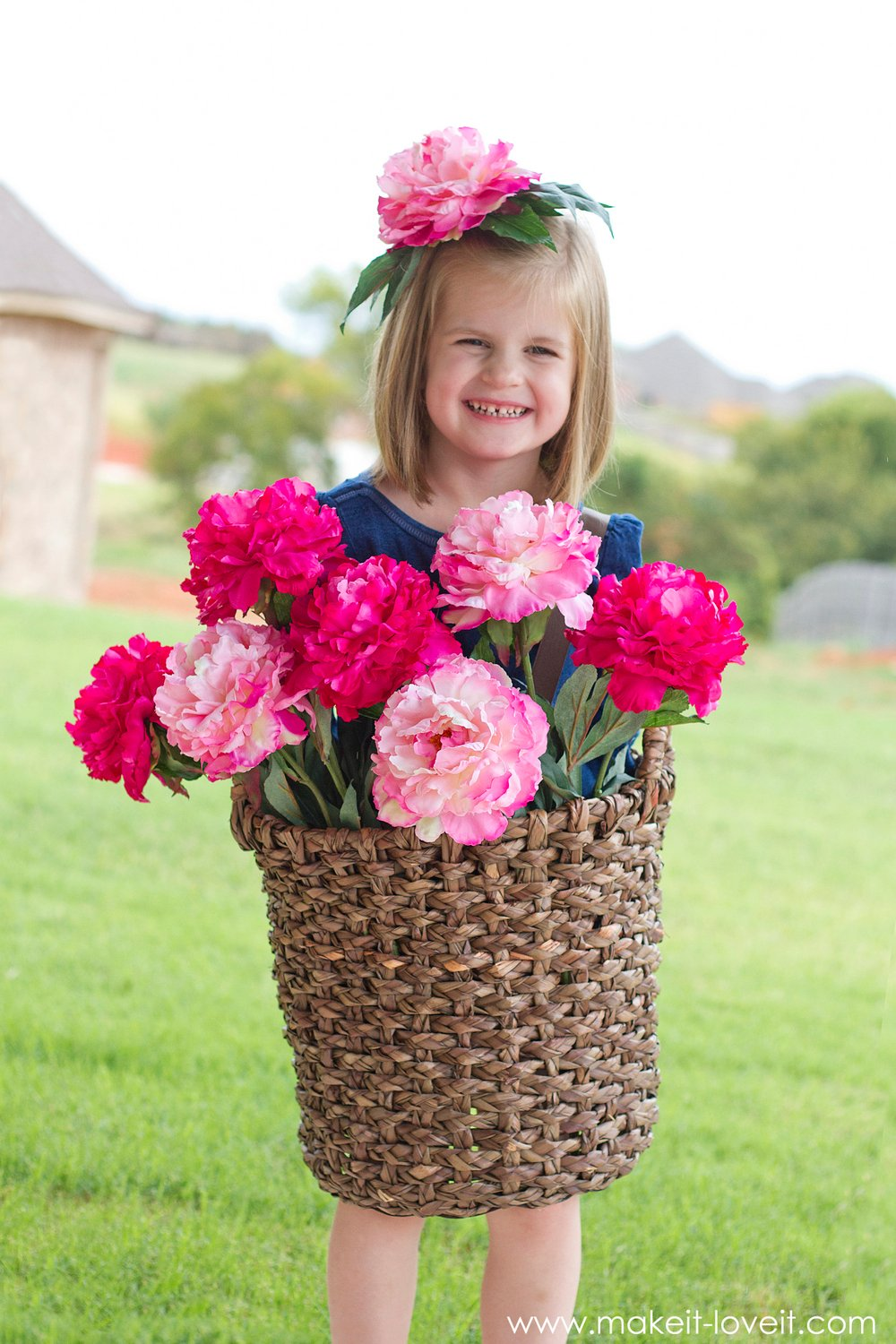 Flower basket costume 2