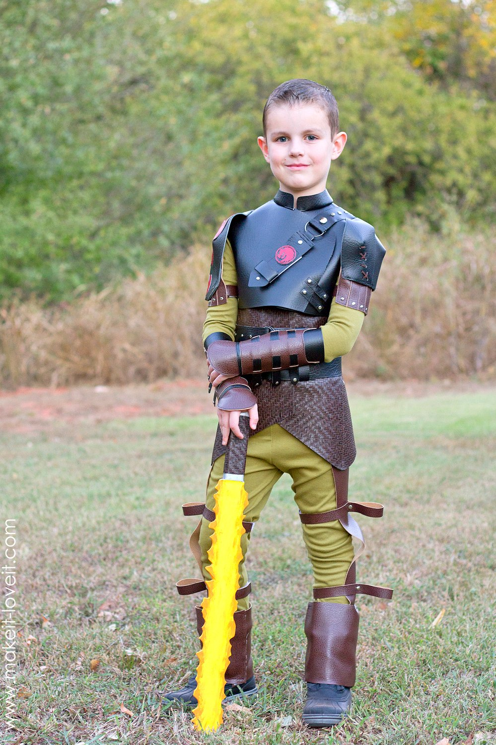 """Hiccup Costume...from """"How To Train Your Dragon 2"""" 