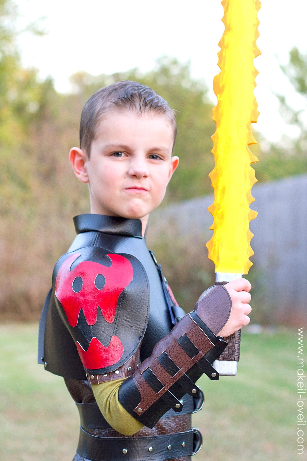 """DIY Hiccup Costume...from """"How To Train Your Dragon 2"""" 
