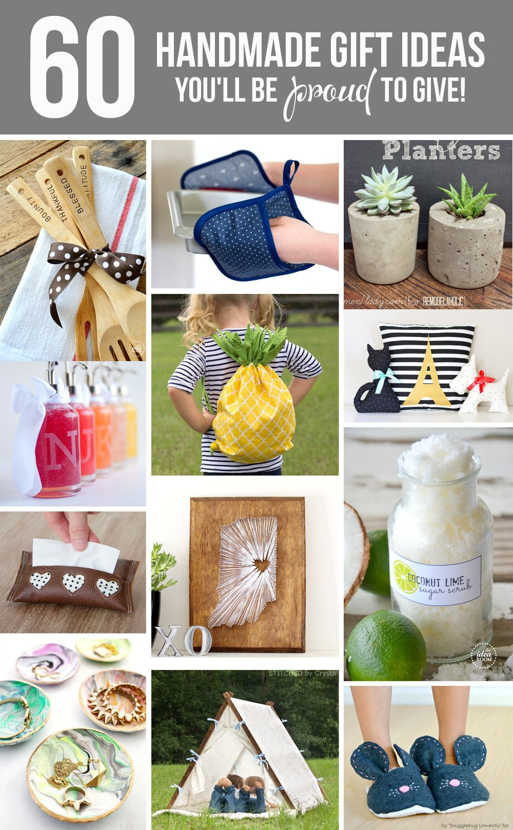 60 Handmade Gift Ideas You Ll Be Proud To Give Make It And Love It