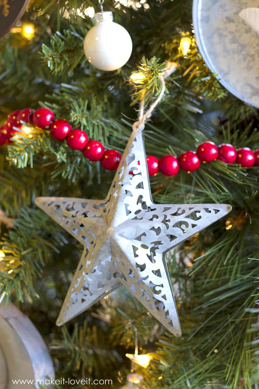"Christmas ""Dream Tree"" Challenge --- Metal & Wood | via Make It and Love It"