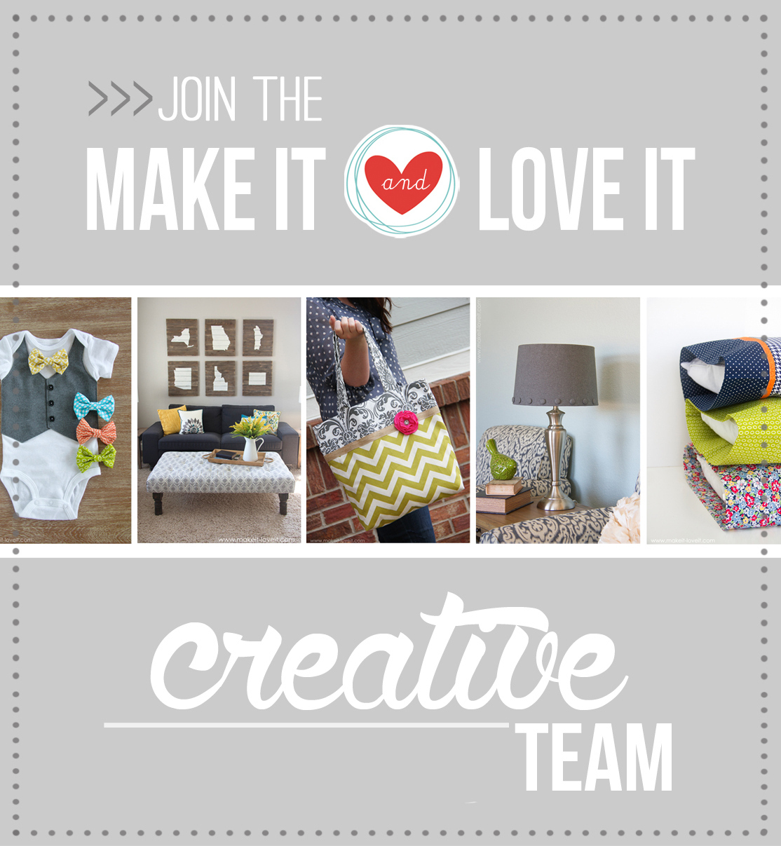 Join the make it and love it team 2016!!!