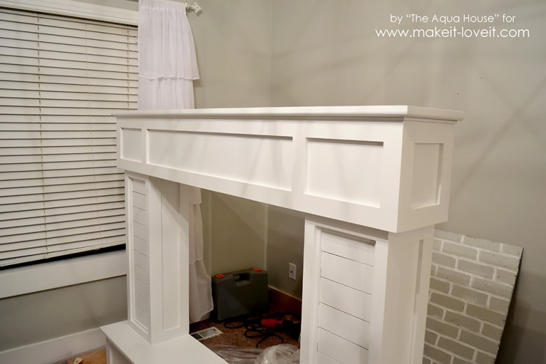 faux fireplace and mantle (56)