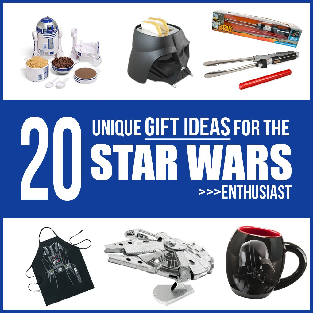 Gift Guide 20 Unique Ideas For The Star Wars Enthusiast