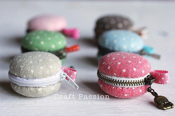 Macaron-Coin-Purses