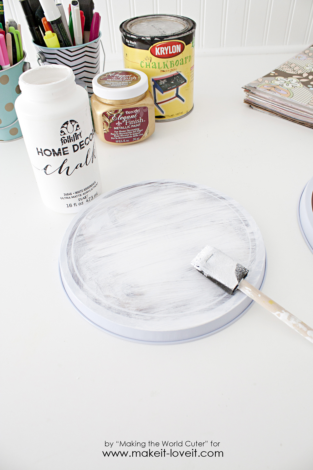 Ideal Dollar Store Burner Coversturned into Art! | Make It and Love It JQ67