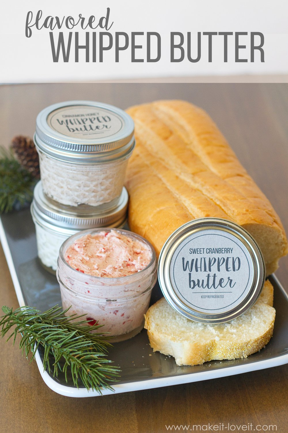 flavored whipped butter 1
