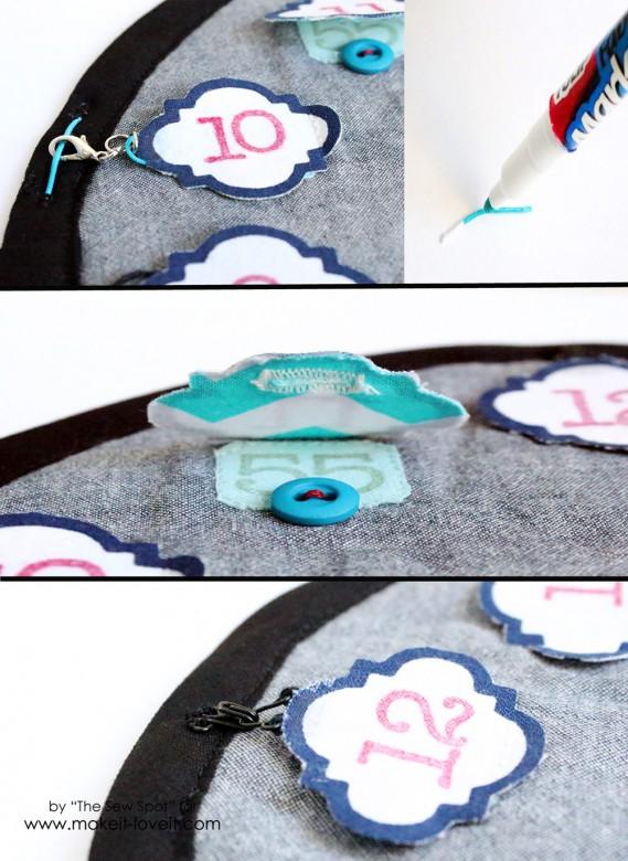 Handmade Kids Activity Clock