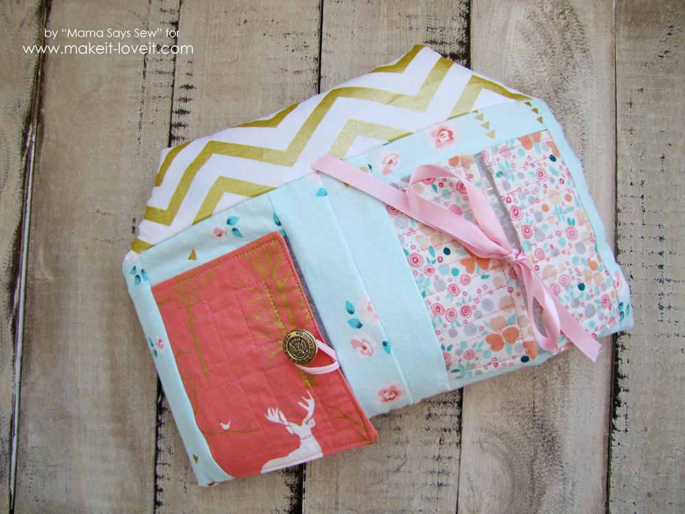 House Shaped I Spy Bag with Free Pattern   via Make It and Love It