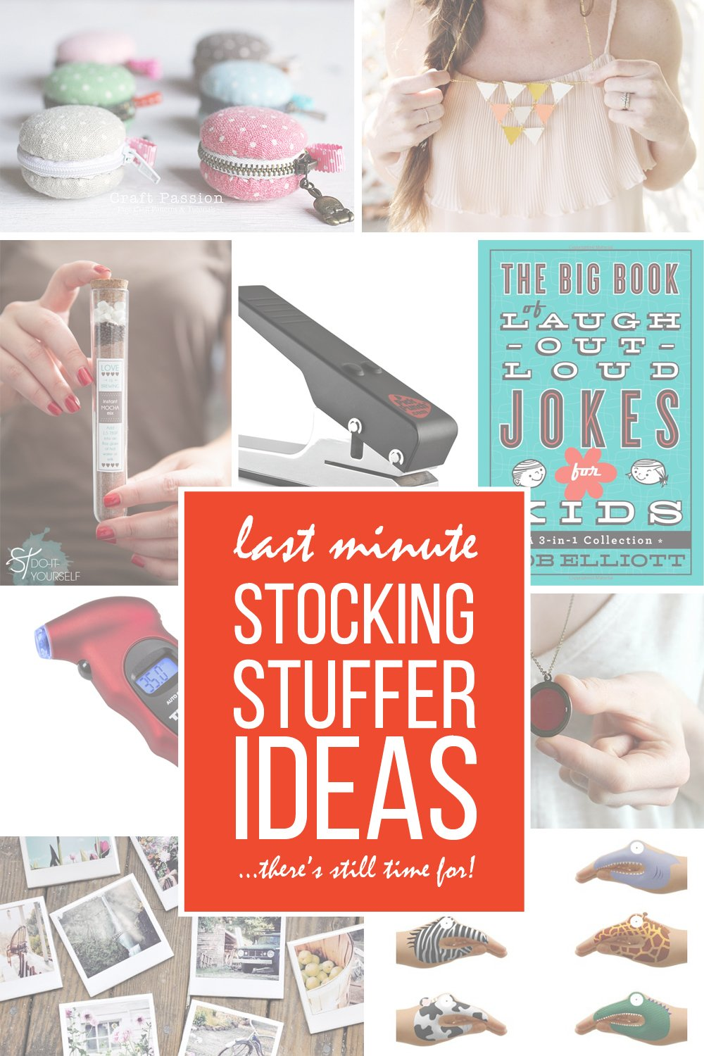 26 last minute stocking stuffer ideas (…there's still time to make/buy!!)