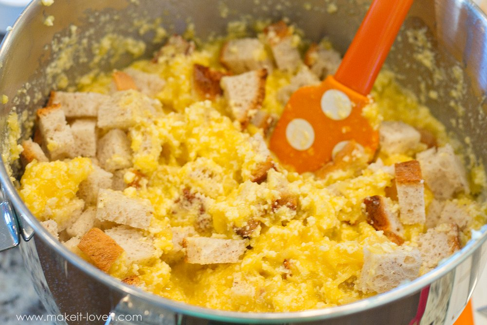 Sweet Pineapple Strata recipe | via Make It and Love It