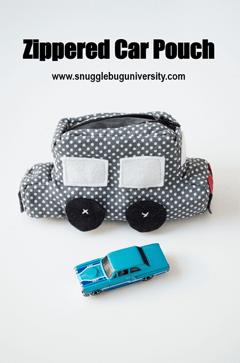 Car zippered pouch s