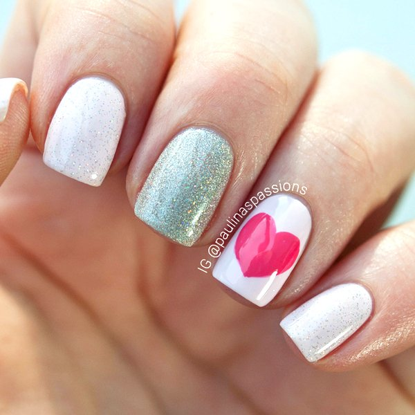 21 Crazy Cute Valentines Day Nail Art Ideas Make It And Love It