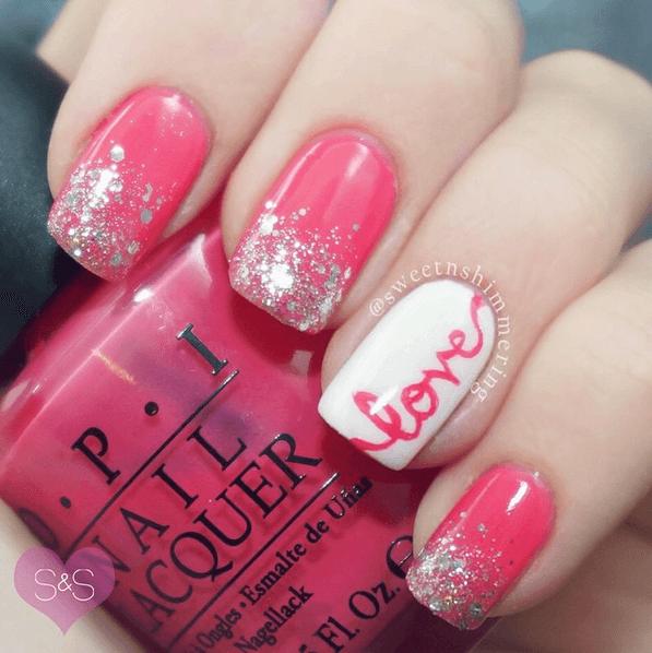{21} Crazy Cute Valentine's Day NAIL ART IDEAS!