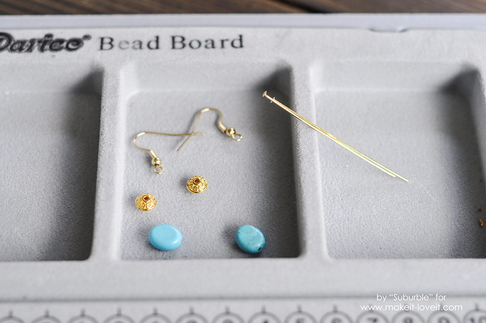 Simple Turquoise Earring Tutorial - High Res-1 copy