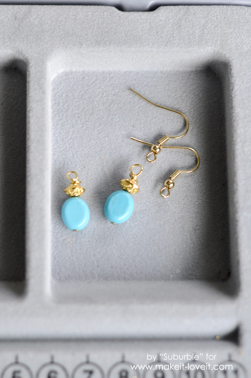 Simple Turquoise Earring Tutorial - High Res-7 copy