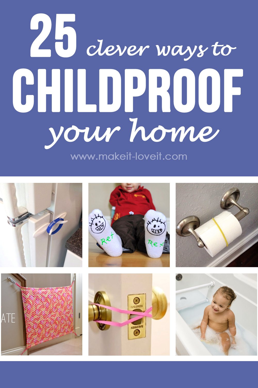 25 clever ways to childproof your home (…plus a little update on our table)