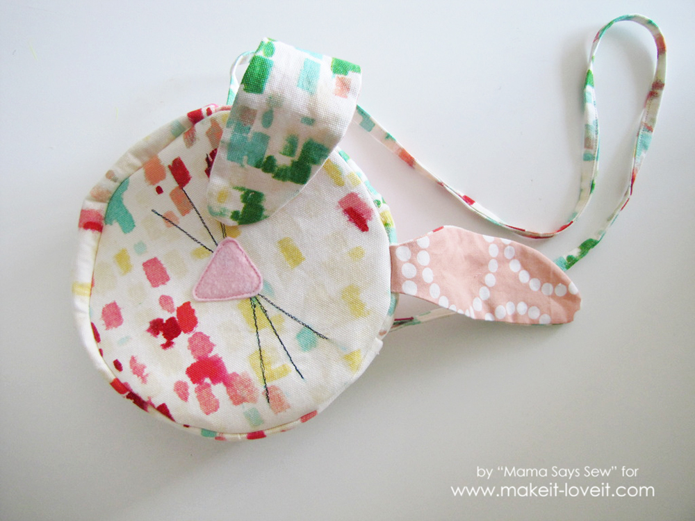 Easy bunny purse tutorial - perfect for Easter (25)