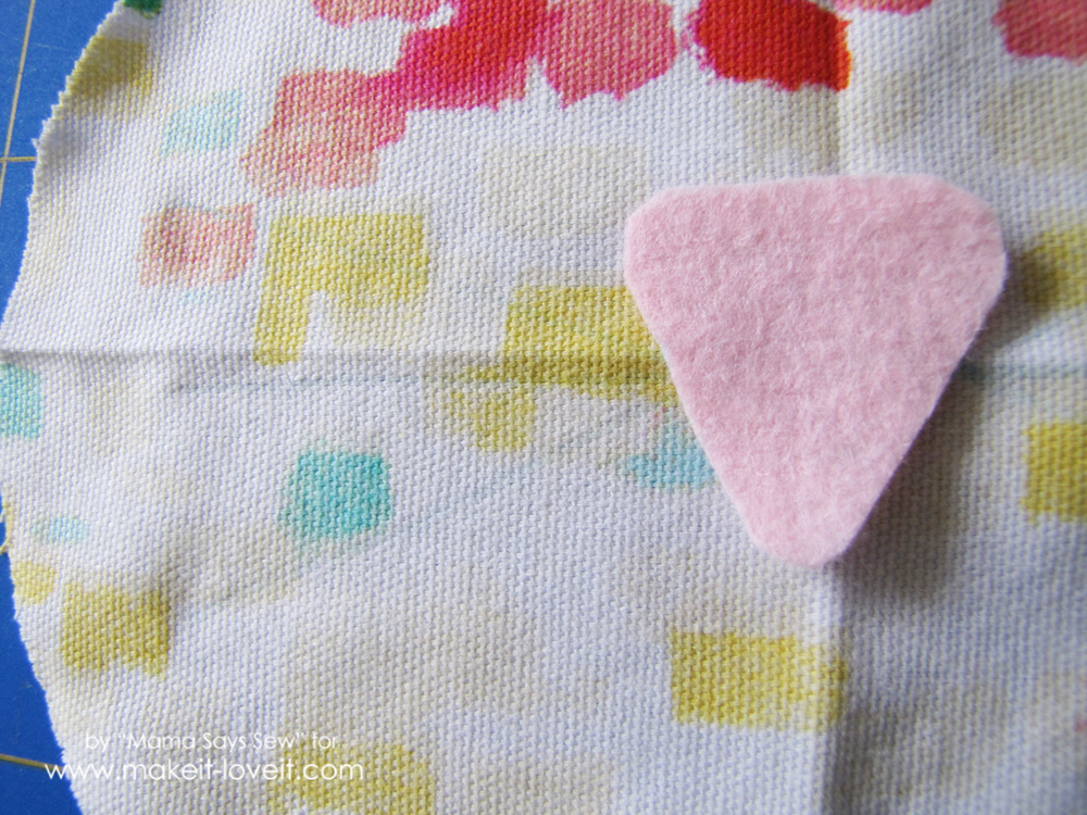Easy bunny purse tutorial - perfect for Easter (5)
