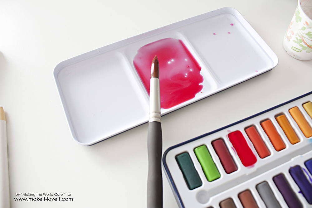 Watercolor resist easter egg canvases (7)