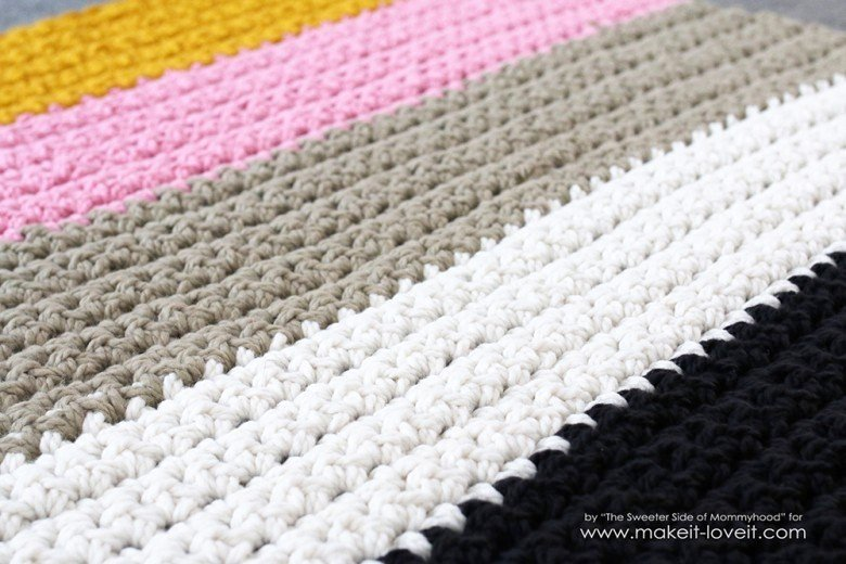 How To Crochet A Chunky Blanket An Affordable Beginner Project