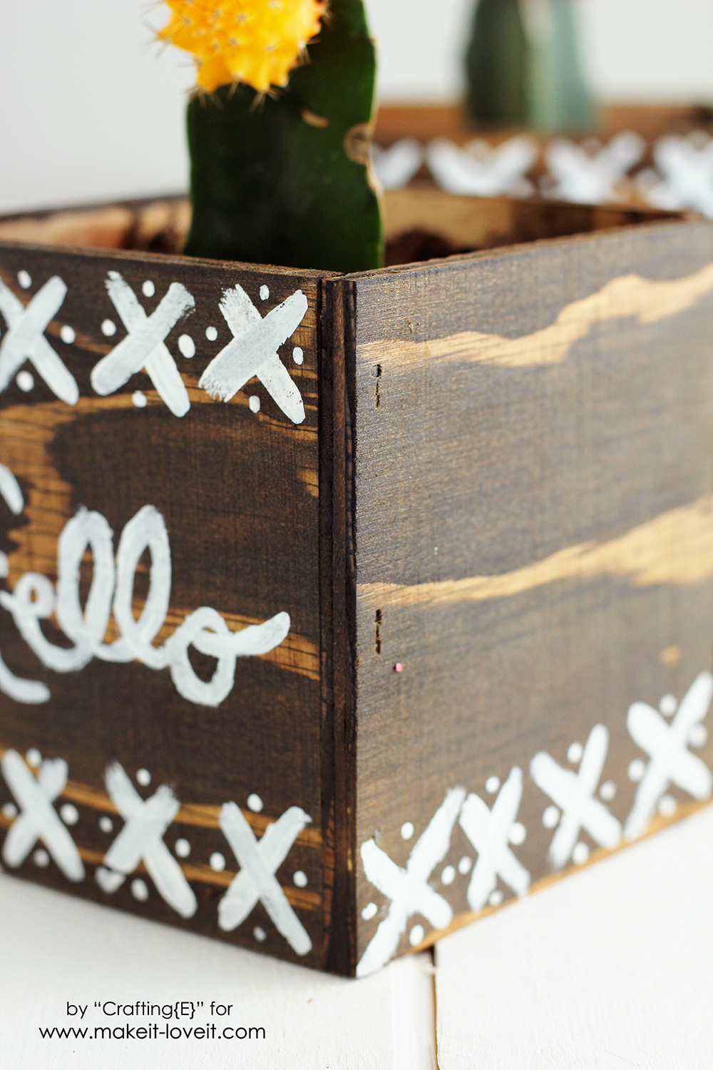 Easy DIY Plywood Planters   via Make It and Love It