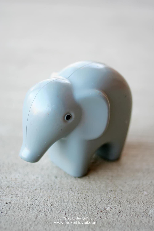 DIY Toy Elephant Succulent Planter (1)