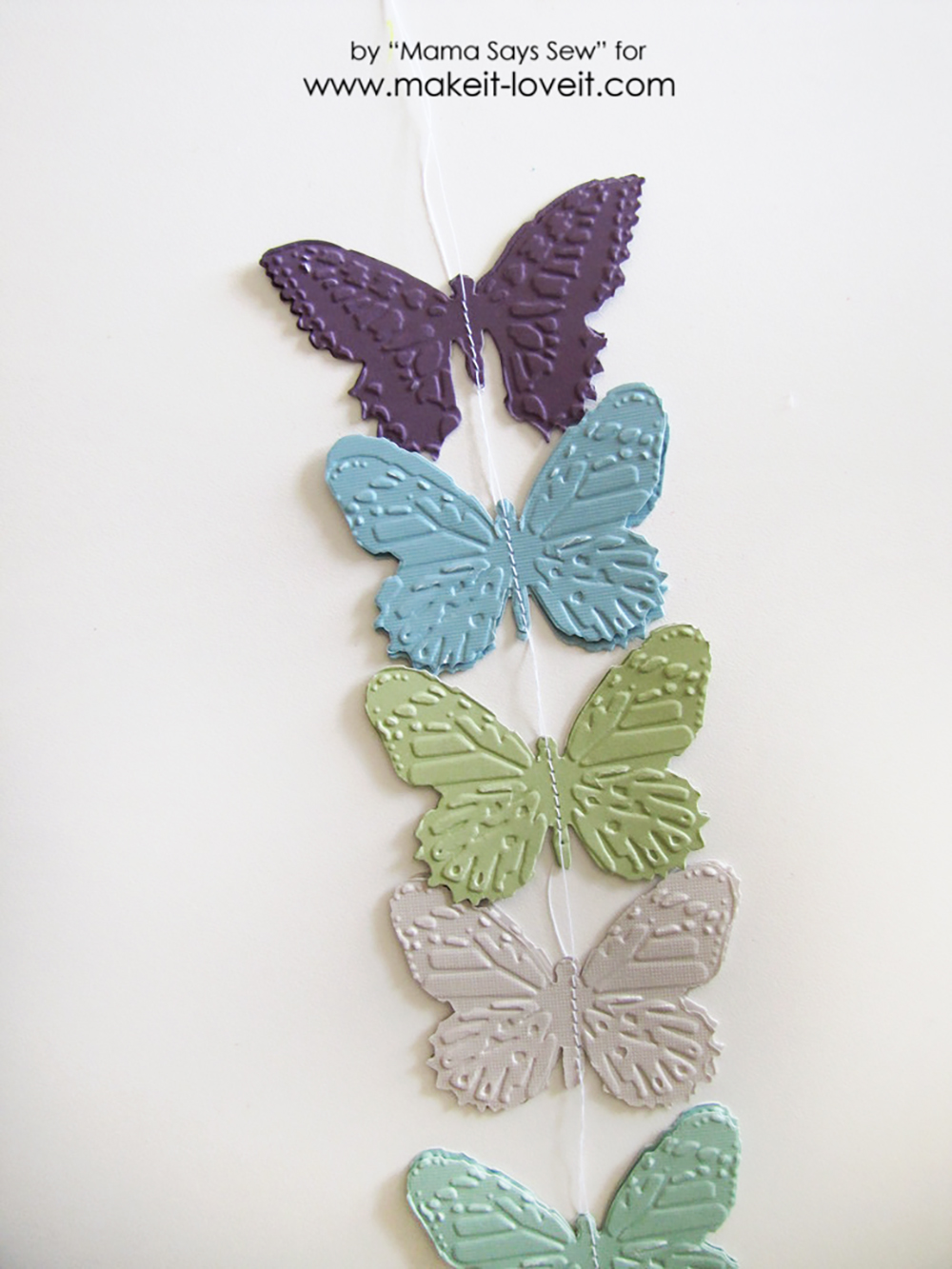 Make your own butterfly mobile or dreamcatcher (6)