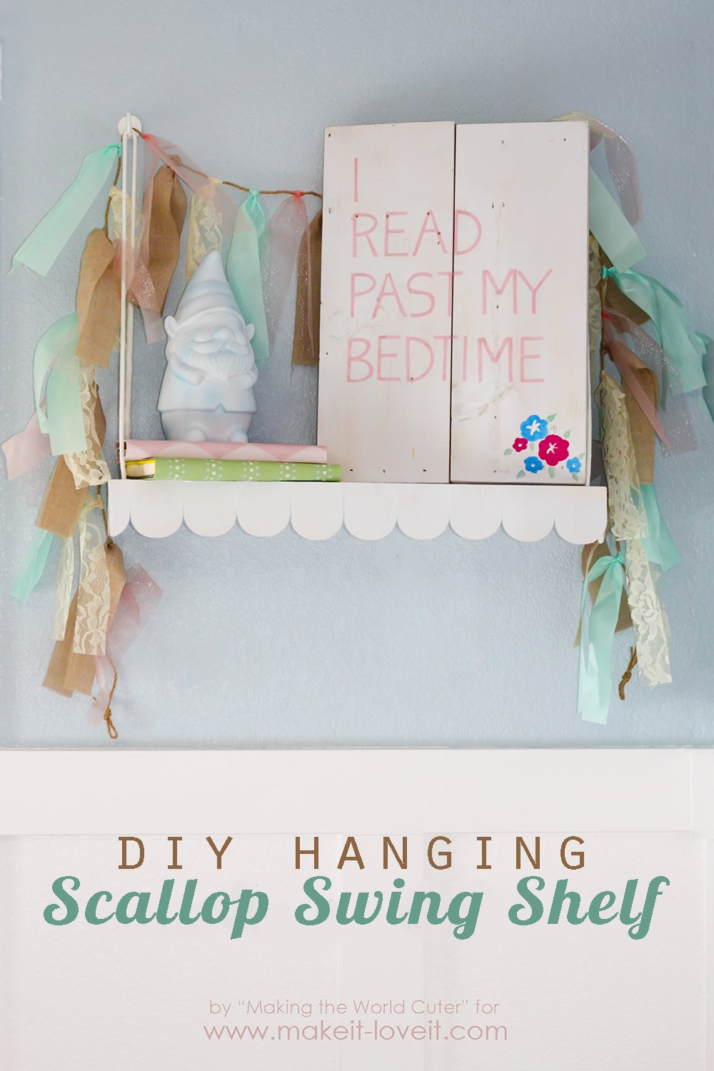 Diy scallop swing shelf 1