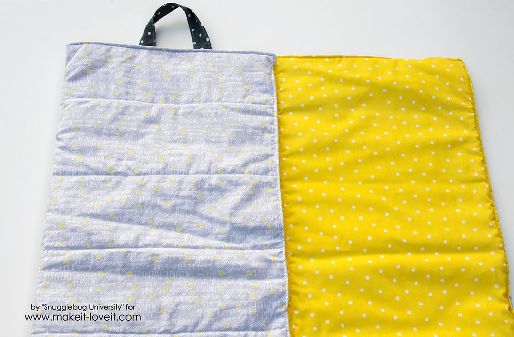 easy to make baby travel quilt (11)