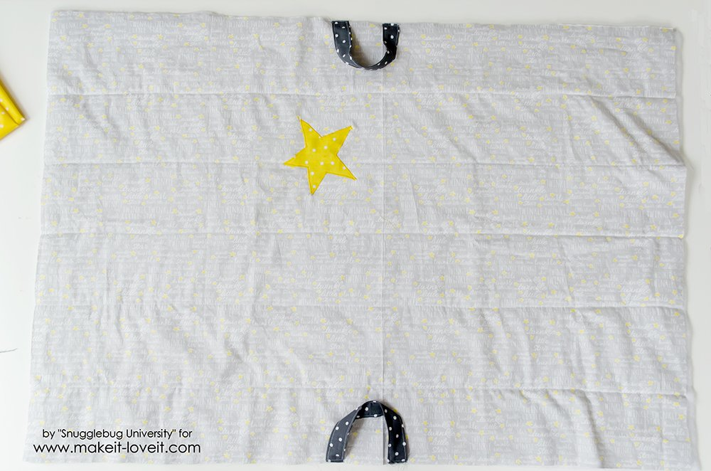easy to make baby travel quilt (19)