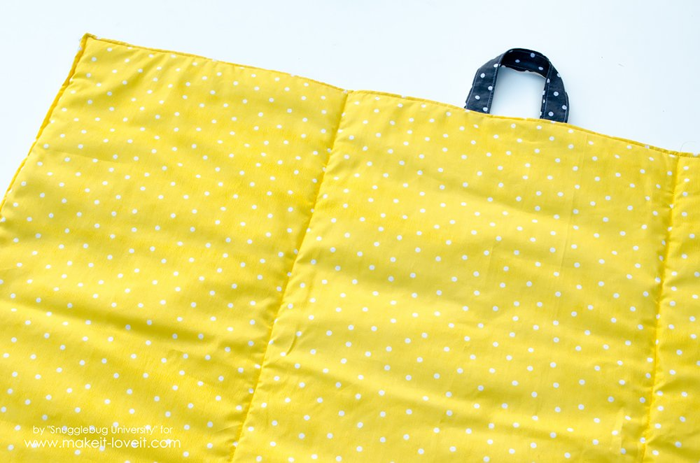 easy to make baby travel quilt (9)