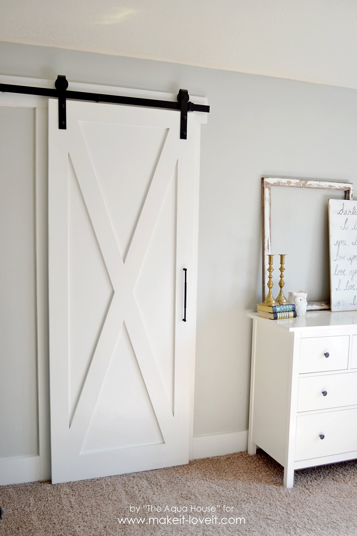 super simple barn door tutorial (2)