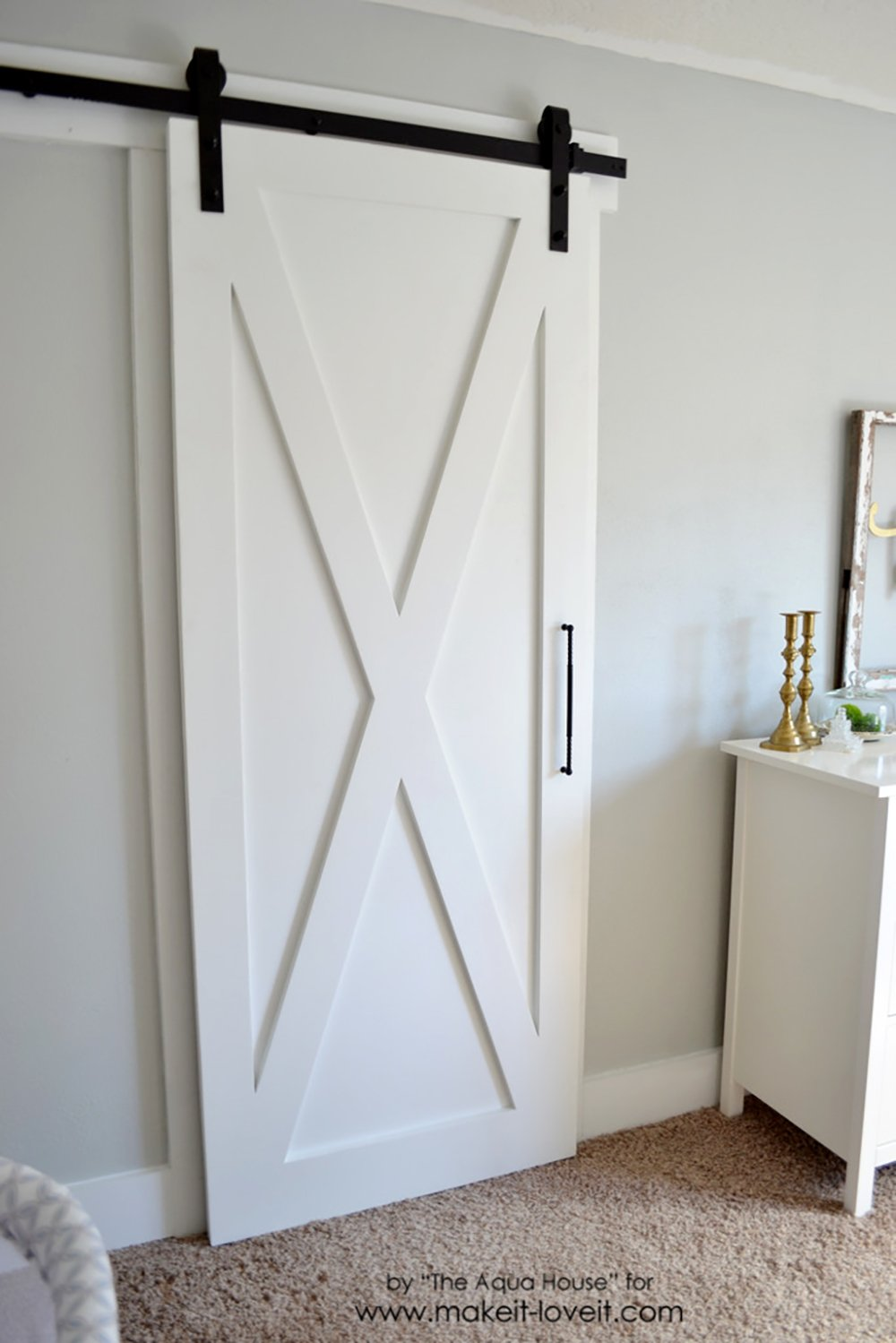 Super Simple Barn Door Tutorial Make It And Love It