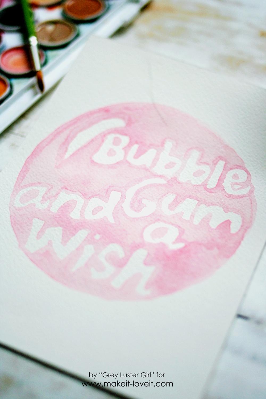 EASY watercolor typography (15)