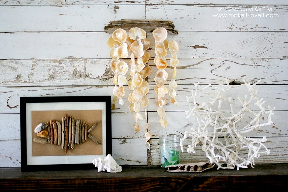 How to Make a Seashell Mobile | via makeit-loveit.com