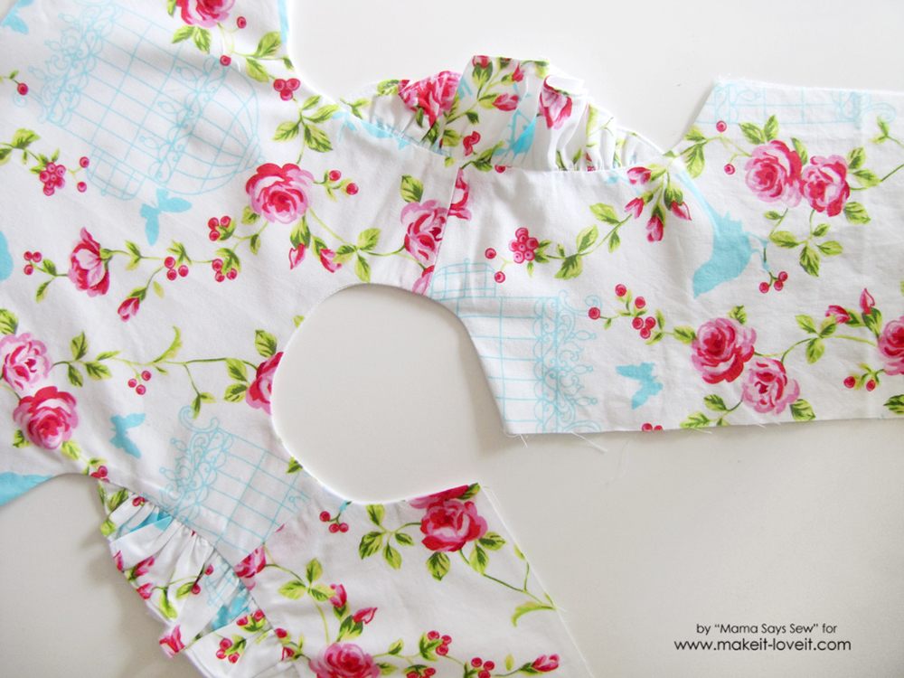 how to alter a pattern to add flutter sleeves (14)