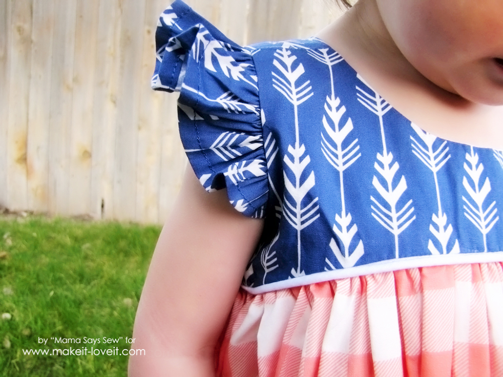 How To Alter a Pattern To Add Flutter Sleeves | via makeit-loveit.com