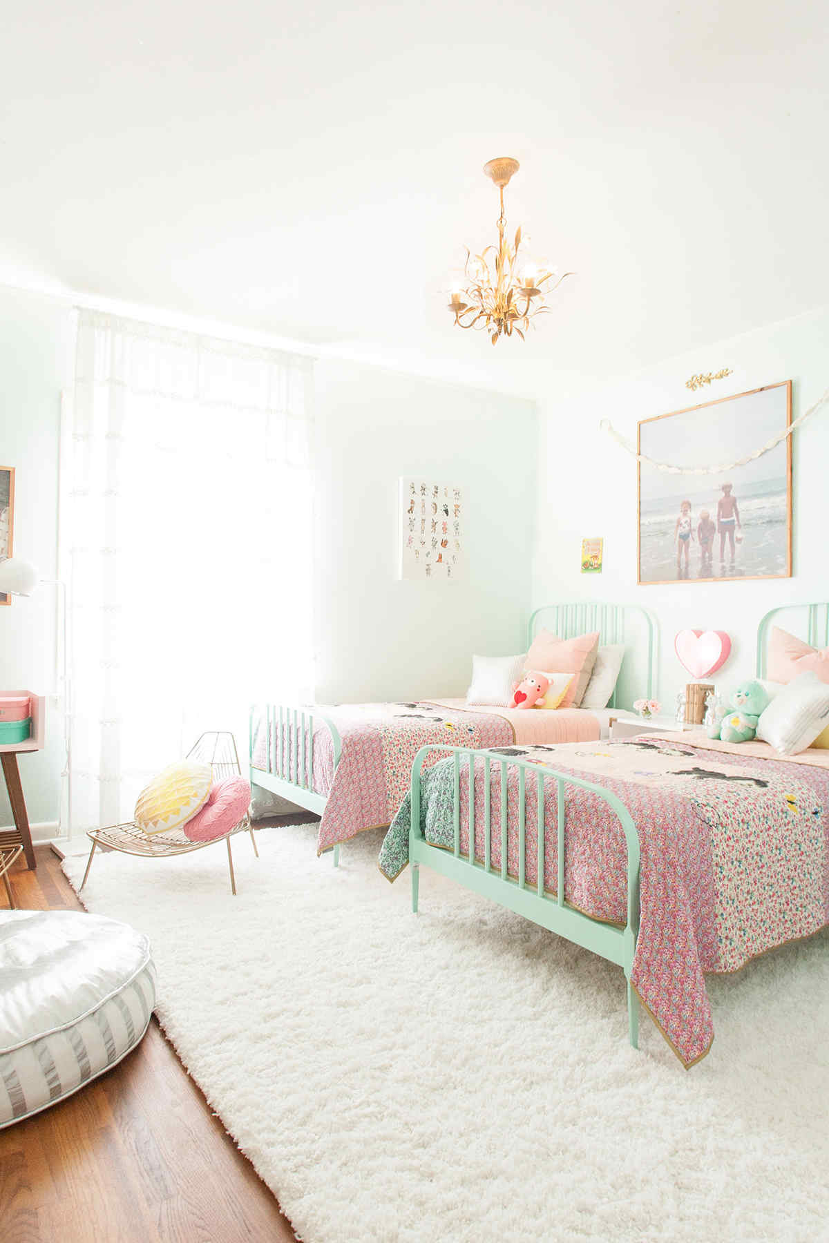 18 Shared Girl Bedroom Decorating Ideas – Make It and Love It