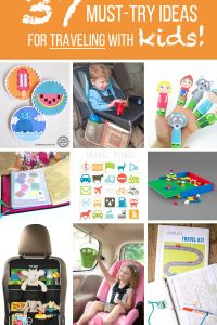 37 Must-Try Ideas for TRAVELING WITH KIDS!! | via makeit-loveit.com