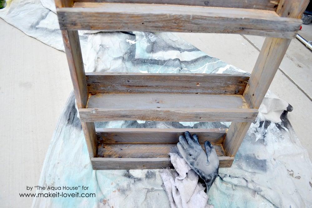 DIY Pallet spice rack (11)