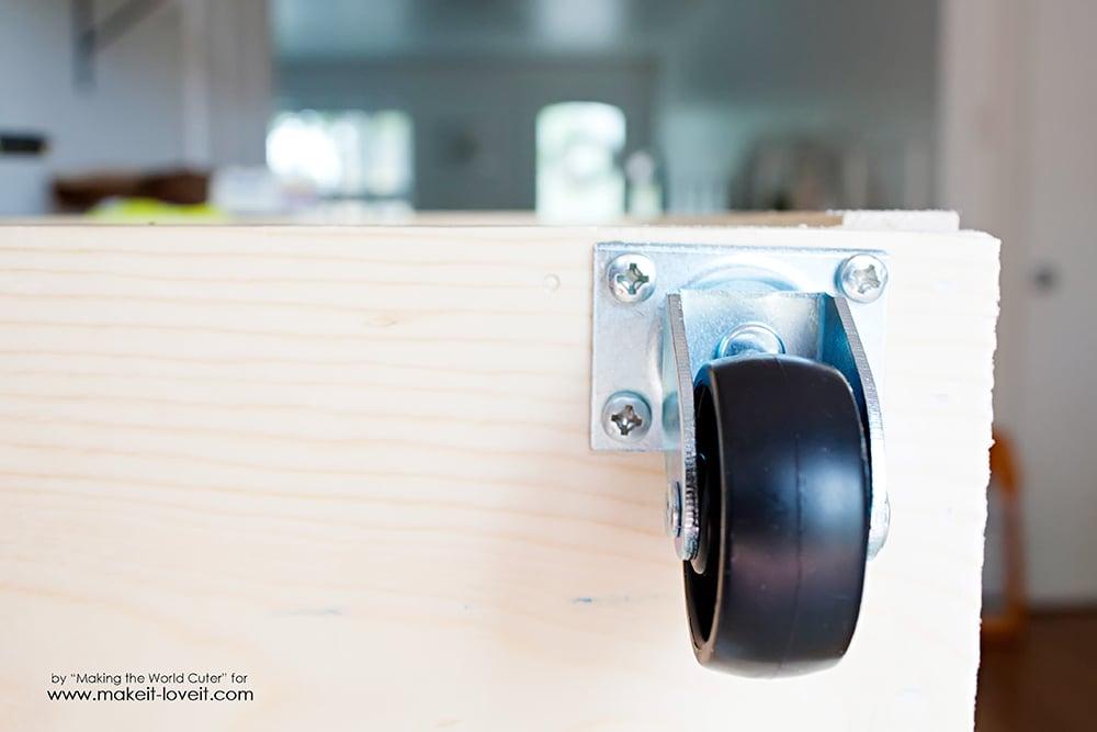 Easy DIY craft cart tutorial (10)