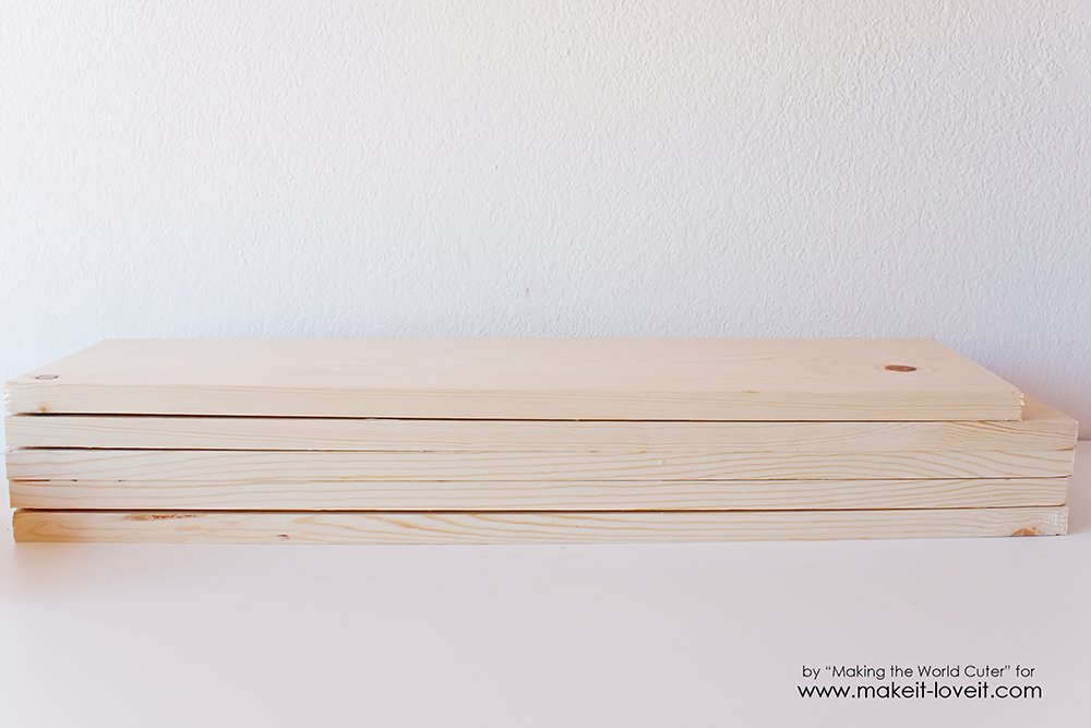 Easy DIY craft cart tutorial (2)