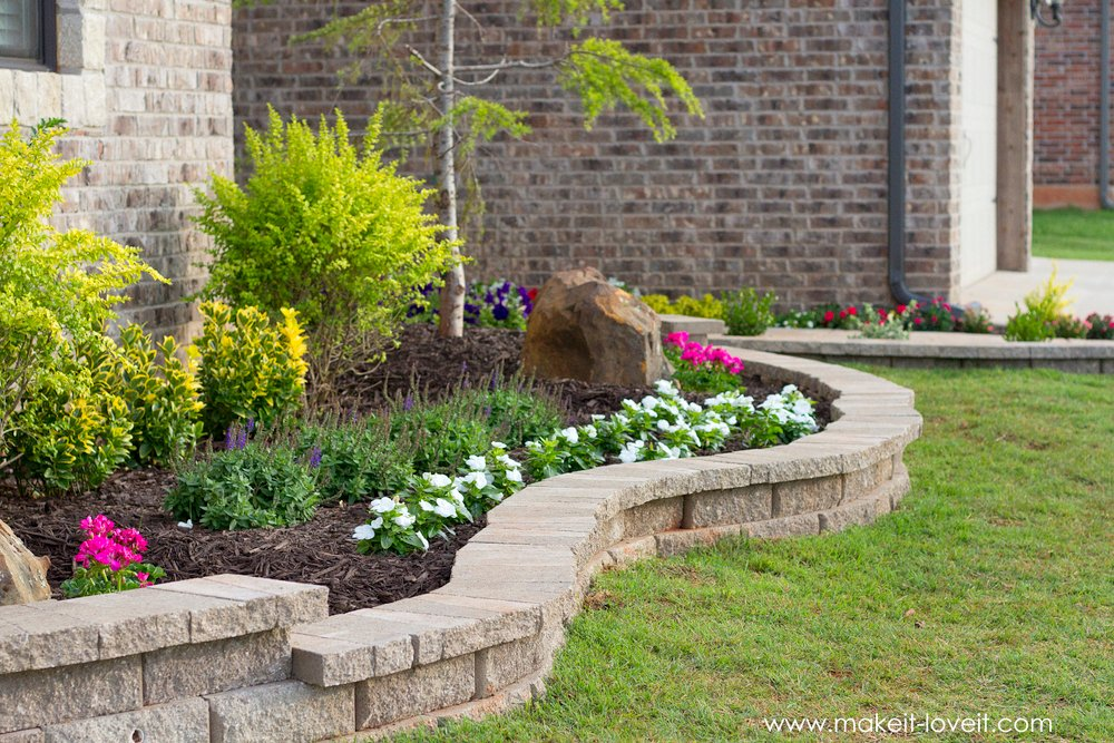 How To Landscape & Hardscape a Front Yard (...from our experience!!) | www.ashley1.mystagingwebsite.com