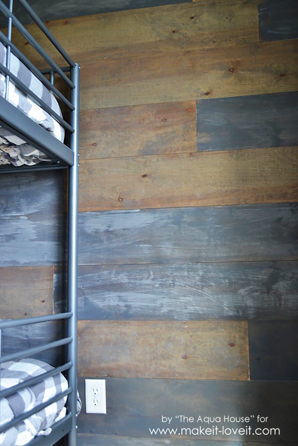 How To Make A Faux Barn Wood Wall Make It And Love It