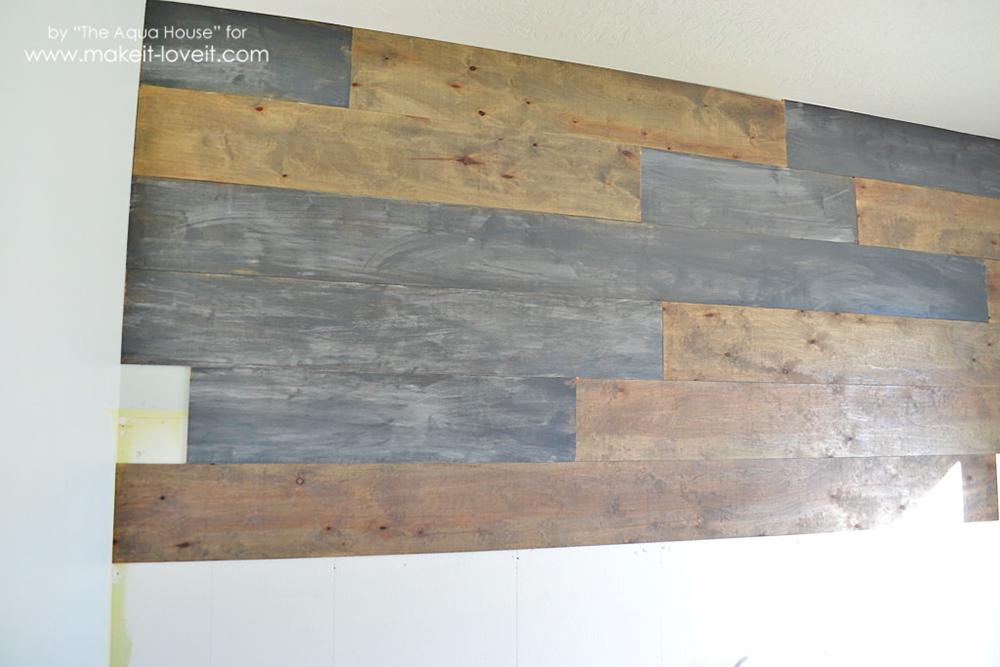 Faux barnwood wall (3)